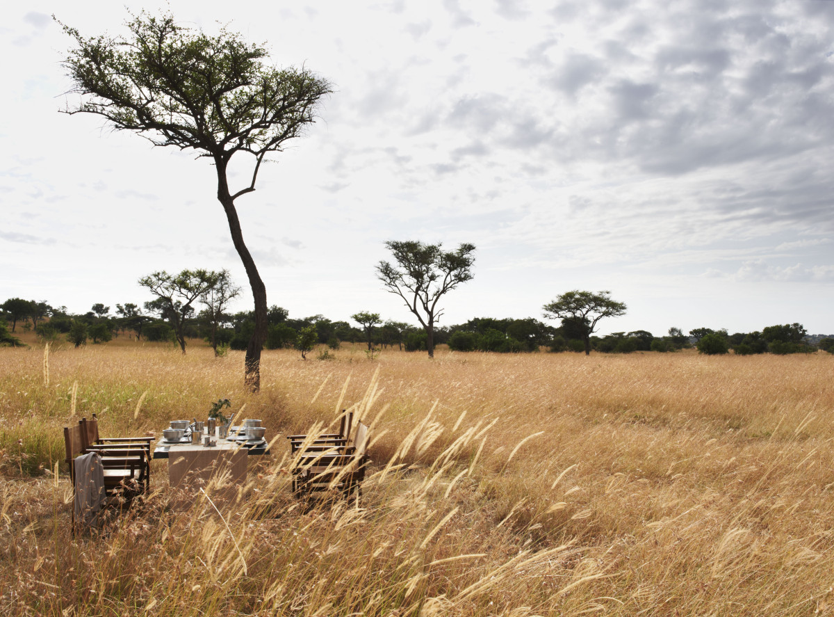 Singita Explore, Grumeti, Serengeti, Tanzania. Agency HKLM. Art Director: Paul Henriques. Stylist/Producer: Janine Fourie. Photographer: Mark Williams. 10/02/12.
